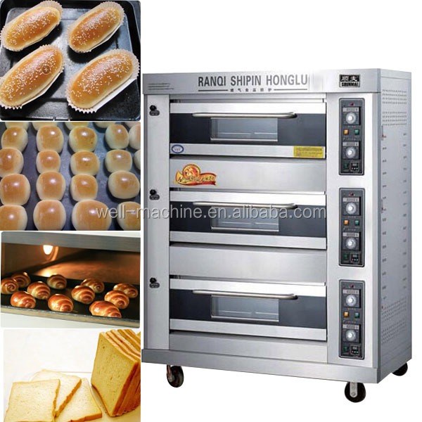 Electric Gas Commercial Bread Machine