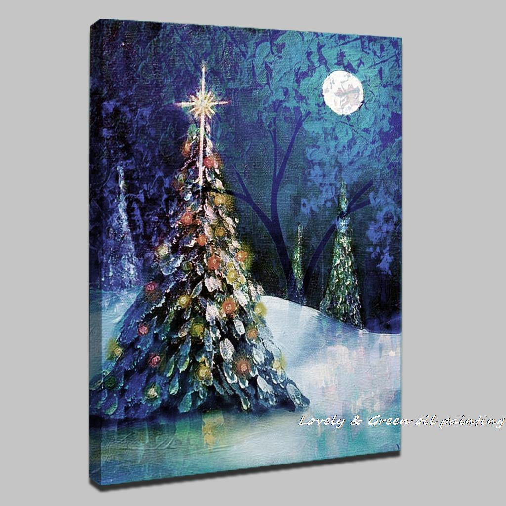Easy Wall Mural Ideas Christmas Paintings On Canvas Www Imgkid Com The Image