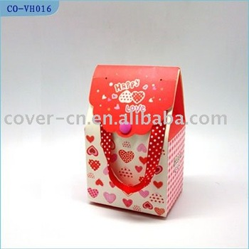 Wine souvenir bag/voice recording bag/musical paper bag