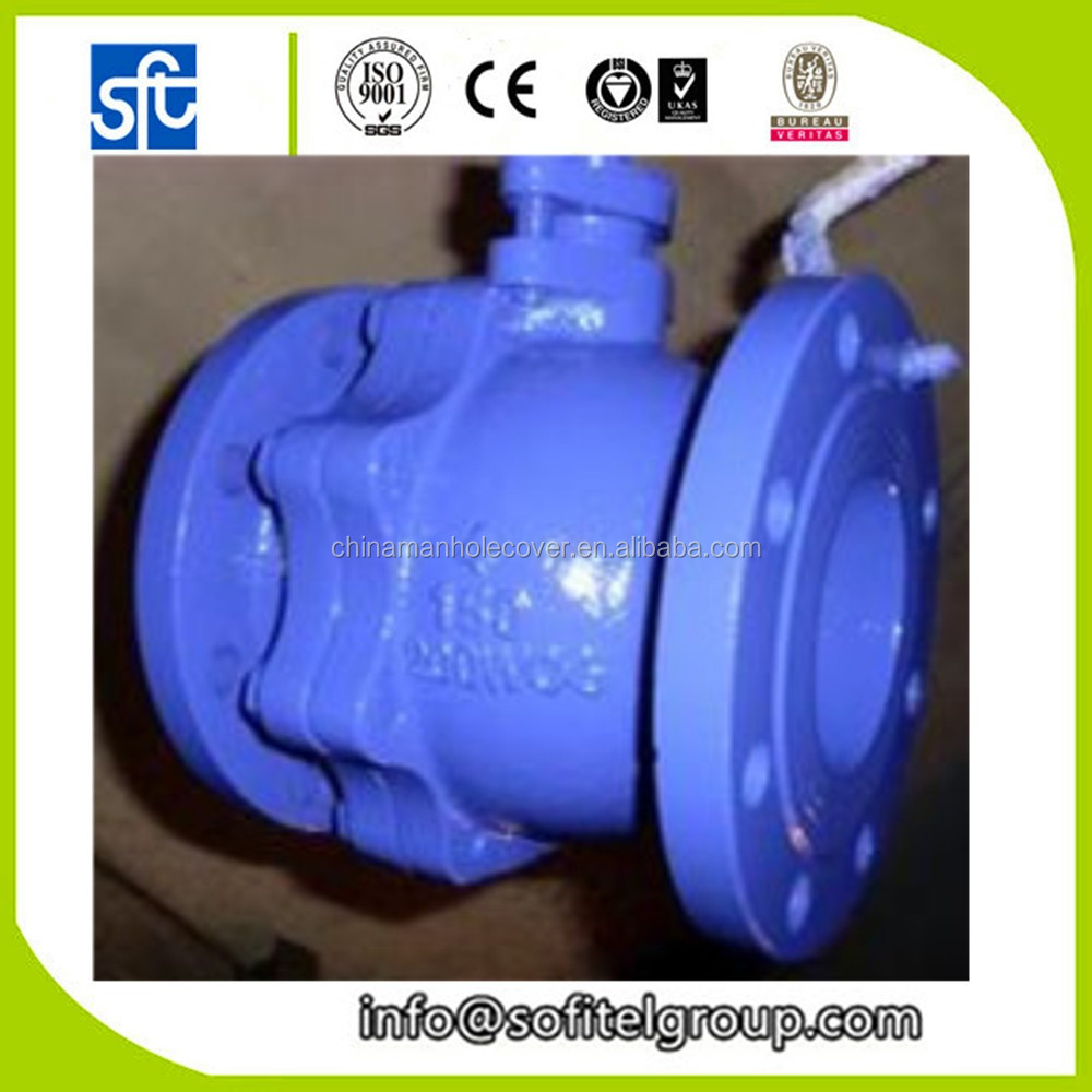 Ductile Iron Water Ball Valve DN50 Carbon Steel vavles DIN3357