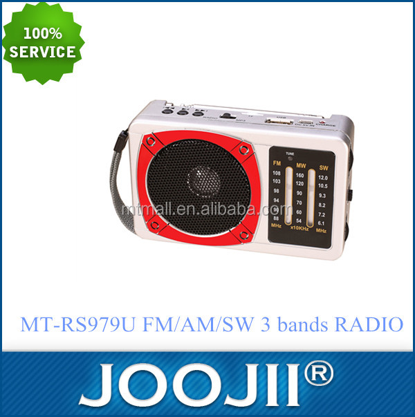 2016 HOT SELL FM/AM/SW 3 bands RADIO FM 180