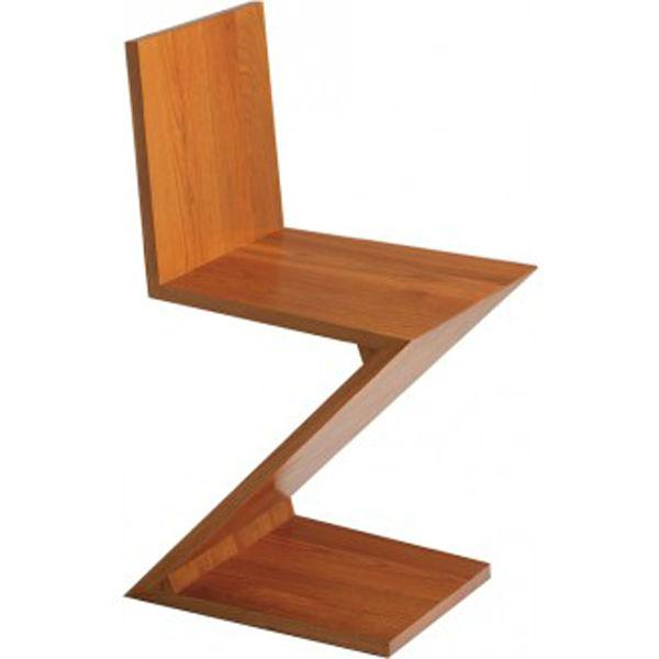 Gerrit t rietveld zigzag stoel houten stoelen product id 902479043 - Houten plastic stoel ...