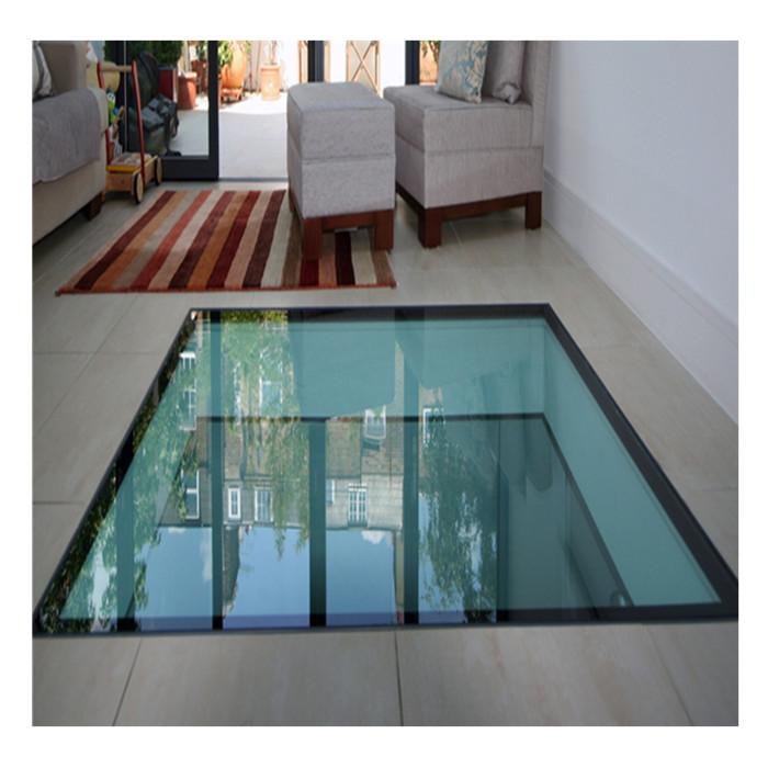 Anti Slip Glass Floor Laminate Temper Glass Price Of Glass Floor
