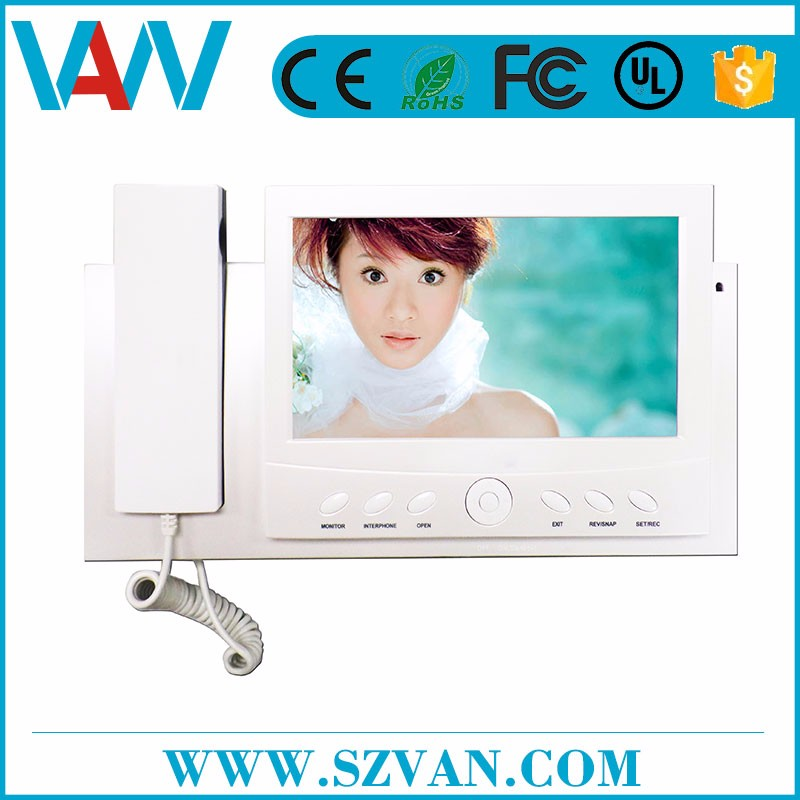 Factory directly sell commax video door phone with logo printed
