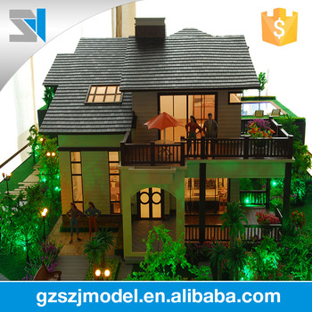 Handmade And Well Design 3d Villa Architecture Models,miniature Model  Making,architectural Scale Models