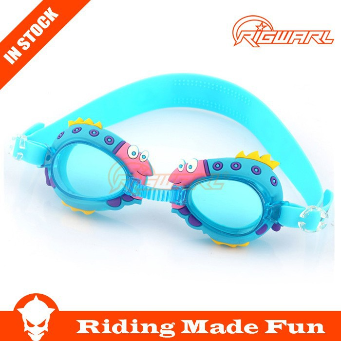 Mirror Coating Goggles Kids Silicone Swimming Goggles