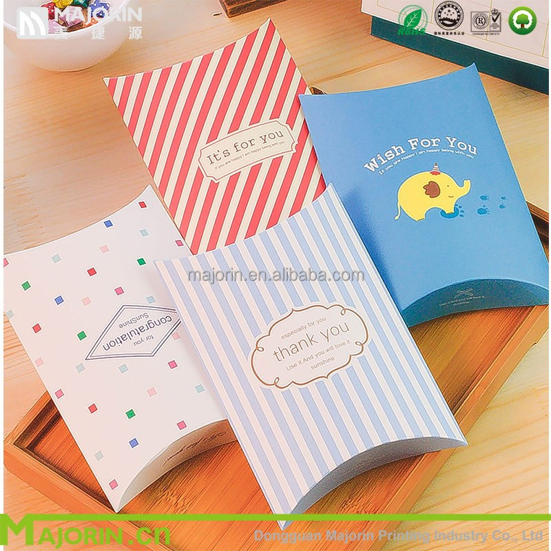 Customized printed high quality candy gift box apple pie packaging box