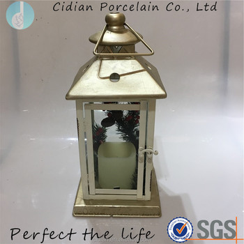 New design Hanging Ceramic Lantern for decoration