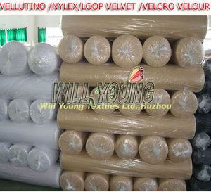 High quality loop velvet fabric velcrability