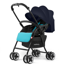 T09A One hand floding baby stroller aluminum high landscape baby prams luxury