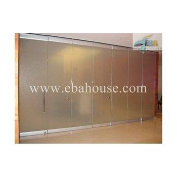 the latest 12ff0 6b818 High Quality Aluminium Frameless Folding Door Interior Frosted Glass Door  Aluminium Door - Buy Aluminium Frameless Folding Door,Interior Frosted  Glass ...