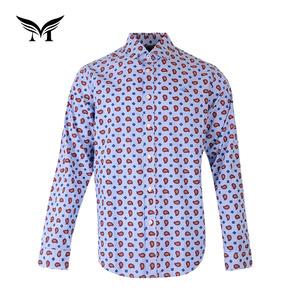 b44f6cfe Manufactory new style wholesale cotton full sleeve paisley dress shirts men