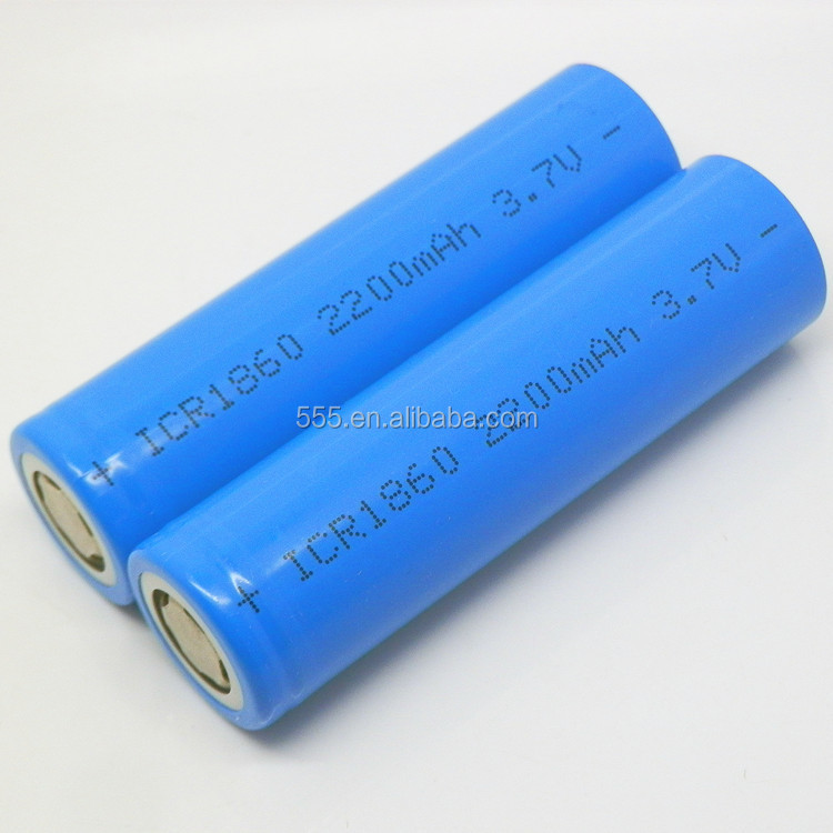 Hot sale rechargeable Li-ion power bank battery 18650 3.7V 2600mah for cell phone