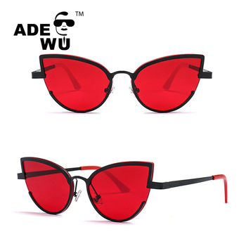 Wu Uv400 cat Cat Oculos 2018 Unique Sunglasses Women Sun Fashion Designer Sol Modern De Ade Gradient Brand Glasses Buy Eye 2018 Df22013 Tcu1KJlF53