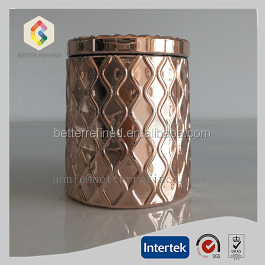 copper airtight container for candle making