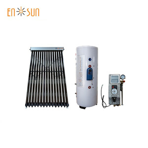 high quality evacuated tube heat pipe split solar thermal collector