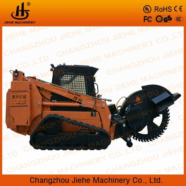 crawler wheel chain trencher for laying optical fiber JHK600