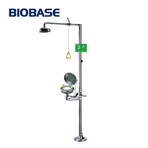 2016 BIOBASE Removable 7pa Single/Double Eye Washer For School / Hospital Laboratory