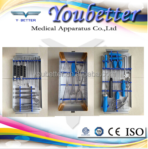 New ! Spinal Screw & Rod Instrument Set . orthopedic implants and instruments.spine titanium orthopedic implants, made in China