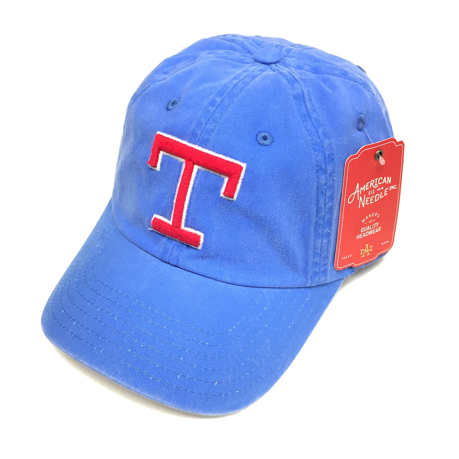 2154822aabe Get Quotations · American Needle MLB Texas Rangers Team New Raglin Under  Visor Adjustable Cap