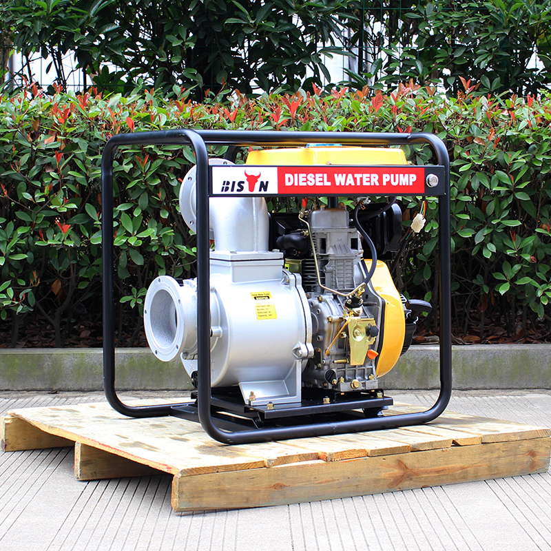 BSDWP60 BISON China Taizhou Hot Sale Low Pressure 6 inch Diesel Engine Driven Water Pump