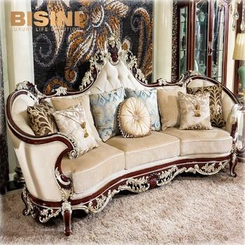 Bisini Luxury French Classical Antique Living Room Furniture Solid ...