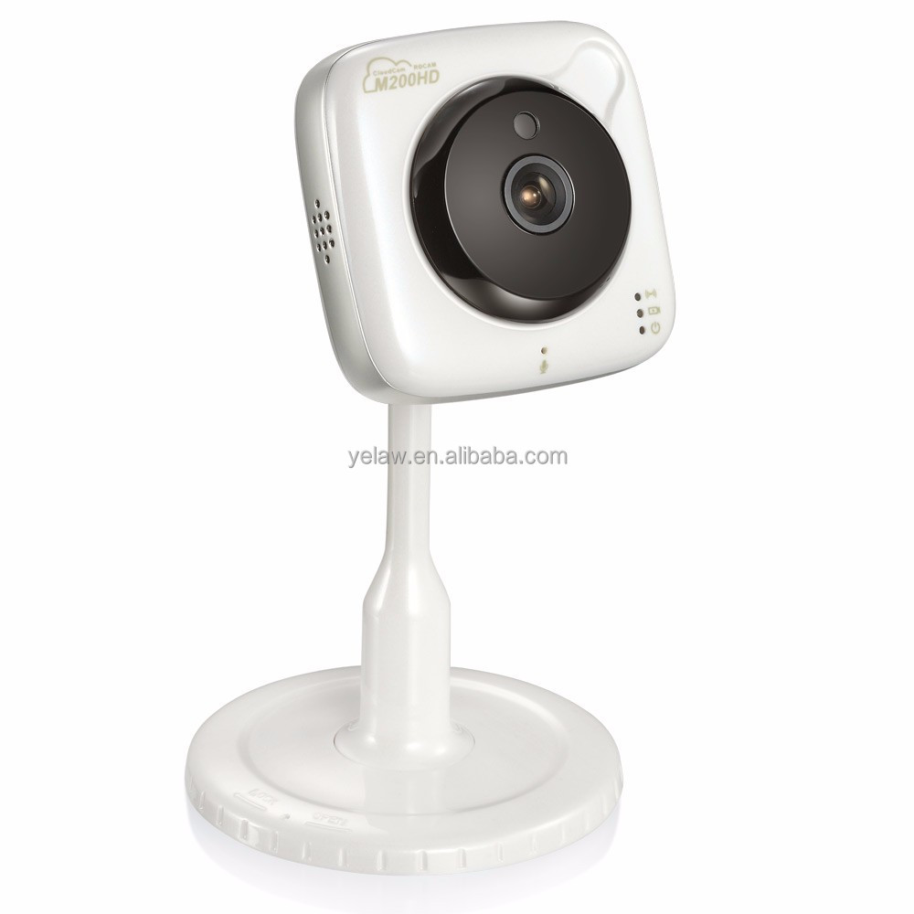 ROCAM M200HD Mini Security IP Camera Two Way Audio WiFi Baby Monitor with Night Vision