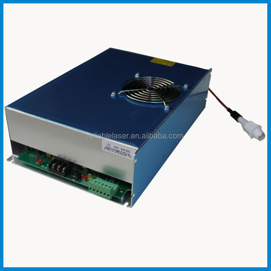 reci co2 laser power supply DY13 100W for reci tube W4