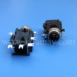 ISO SMD 4 Pole Phone Jack Socket for Media Player