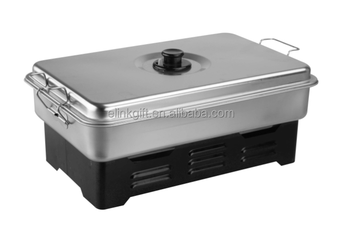 outdoor camping barbecue BBQ oven fish smoker meat smoker stainless BBQ grill
