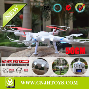 New Products 50CM LS127 6 AXIS RC QUADCOPTER WITH CAMER & LCD