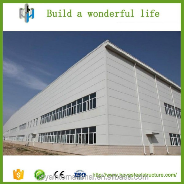 HEYA steel structure workshop fabric buildings finance project for sale