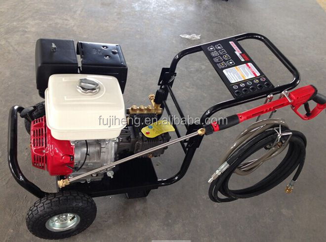 High Pressure Washer 248bar (3600 Psi) With Honda Type Gasoline Engine - Buy Portable High ...