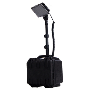 portable search light rechargeable job site work light 72w