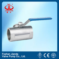 300LB long stem ball valve ANSI