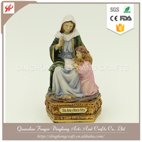 Factory OEM Design Resin Fairy Figurines Christian Religious Gift