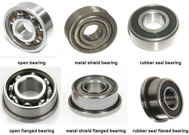 Miniature Deep Groove Ball Bearing 607 607z 607-2z 607-rs 607-2rs ...