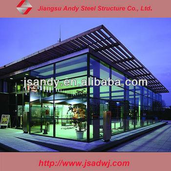 Glass Design Prefabricated Coffee Shop Buy Prefabricated