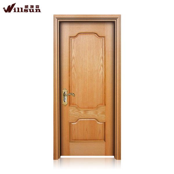 Simple puerta de madera de dise o para el apartamento de - Puertas para el bano ...