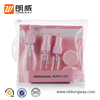Plastic Travel Kit 5PCS Containers for Travel Cosmetic Packaging 3PCS 30ML PET Bottles for Lotion Tonner and Cream Packaging