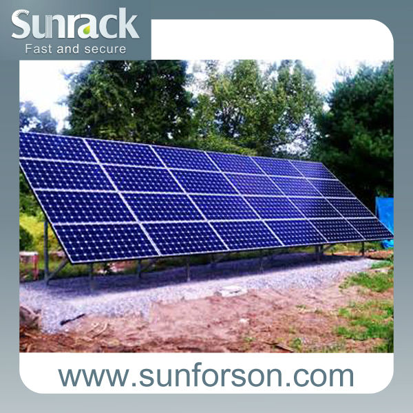 Sunforson low cost/high performance solar panel mounting structure