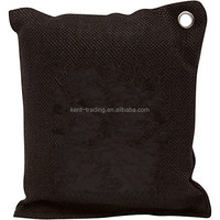 Natural 100 % Bamboo Charcoal Air Purifying Bag Natural Color