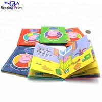 Colorful Story Children Mini Cardboard Pocket Book Printing With Best Price