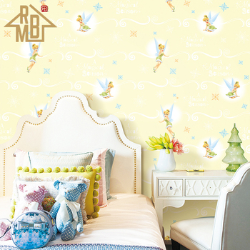 Made In China Little Fairy Star Design Kid Wallpapers For Bedroom