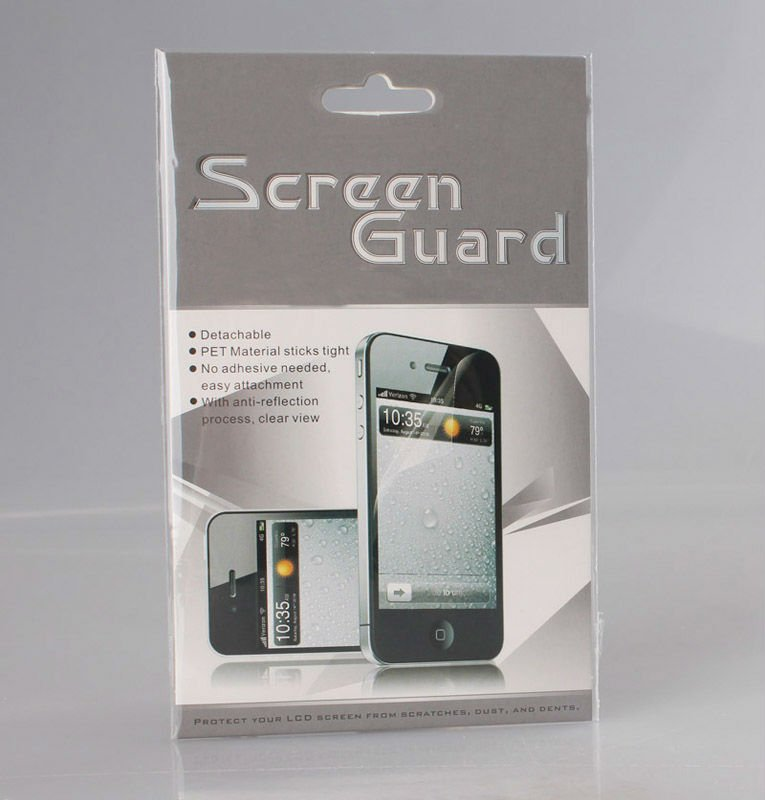 Professional Factory clear Screen Savers Protector Guard for Apple iphone 4s shield cover