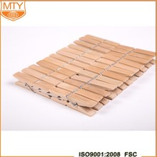 Cheap Wholesale Made In China Eco-Friendly Home Clothespin Wood Pegs