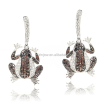 Sophia Collection <span class=keywords><strong>보석</strong></span> 패션 Frog Earring Jewelry Set