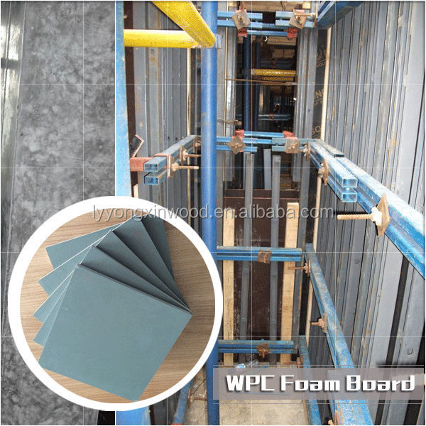 WPC Plastic Shuttering Formwork, WPC Building Template