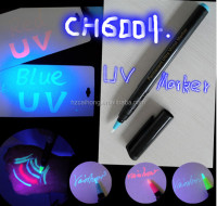 UV-tattoo-stylo, Invisible Ink and Blacklight marker pen, Disappearing ,CH-6004