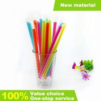 Custom For Milk Hard Clear Plastic Drinking Straw